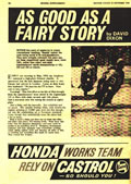 October 22 1964 Motor Cycle mag Honda Supplement article