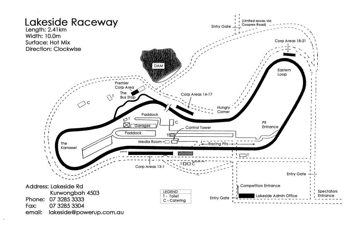 top australian race tracks to rev your engines on